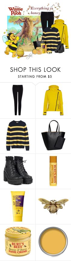 """Disney song"" by dgia ❤ liked on Polyvore featuring Warehouse, Fendi, Toast, H&M, Burt's Bees, Nip+Fab, Le Creuset and Gymboree"