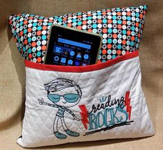 Reading Pillow  Boy  Tween  Teen   Hypoallergenic