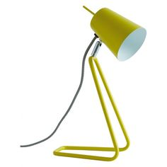 Add convenient task lighting or a warm ambience to your space; find the perfect lamp for your coffee table or side table. Shop Habitat's table lamps now. Task Lighting, Lighting Design, Yellow Desk Lamps, Shoe Room, Herringbone Fabric, Rainbow Room, Metal Desks, Bedside Lamp, Home Furnishings