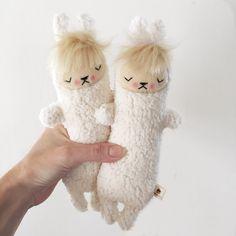 Kawaii Sugarloaf Llama Stuffed Animal Plushie by bijoukitty