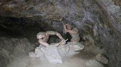 Proceso para obtener los metales precisos, mina La Valenciana, Guanajuato
