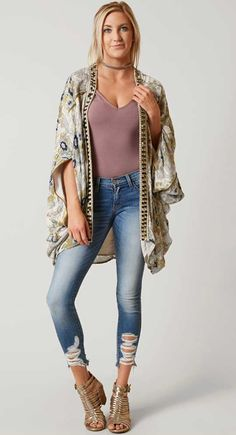 Women's Boho Style : Free People Jaipur Cardigan | Buckle