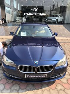 BMW 5 Series 520d Luxury Line  COLOR BLUE  FUEL DIESEL  YEAR REG 2011  MILEAGE 46,000 Kms  OWNER FIRST  Registration PB10  Posh Ride Finance - your best interest !!  Posh Ride Trade In - best value for your existing car !!  Posh Ride Assurance - encourage independent inspection !!  Delivery option available all over india at an additional cost via flatbed service.  For further information or appointment contact our hotline 7307303303.  FOLLOW US ON INSTAGRAM @ posh_ride Bmw Cars In India, Used Luxury Cars, Bmw 5 Series, Color Blue, Diesel, Finance, Delivery, Vehicles, Instagram