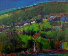 Neville FLEETWOOD artist, paintings and art at the Red Rag British Art Gallery