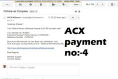 """""""I am getting paid daily at ACX and here is proof of my latest withdrawal. This is not a scam and I love making money online with Ad Click Xpress.u want to join follow this:-""""http://www.adclickxpress.is/?r=cbfs9p9ege43w&p=mx Spend $10, make back $15 in just 30 days (@ 6% per day) Spend $100, make back $150 """" """" Spend $1,000, make back $1,500 """" """" Spend $10,000, make back $15,000 """" """" Spend $100,000, make back $150,000 """" """" or contact me on:-skype:-khaleel.basha99 ph no:-9663517862"""