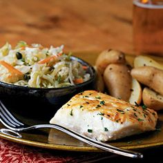 Creole Cod   The mildness of cod takes well to bold flavorings such as Dijon mustard and Creole seasoning. Lemon juice, added after cooking, brightens the flavor. If you can't find Creole seasoning, make your own: Combine 1 tablespoon paprika with 1 teaspoon each of salt, onion powder, garlic powder, dried oregano, ground red pepper, and black pepper. Store in an airtight container.