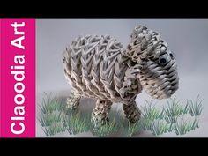 Beran, ovce papír s proutí - YouTube
