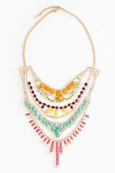 Sugar Crystal Necklace