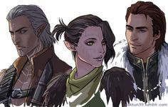 Dragon Age - Fenris, Merrill, Sebastian Vael (WoT Vol. 2)