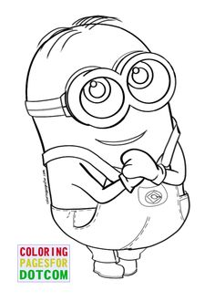 one eye minion despicable me coloring pages dessins garderie pinterest coloring online coloring and for kids