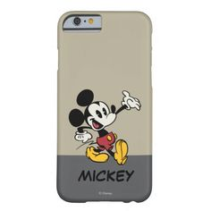 Mickey Mouse 3 Barely There iPhone 6 Case