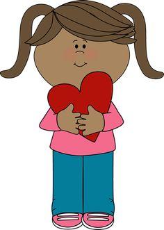 Valentine girl.