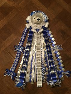 """2016 Lehman Lobos Small (18"""" ribbon) Homecoming mum"""