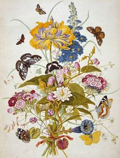 Botanical Watercolor by T.C. Robins