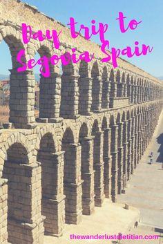 day trip to segovia spain