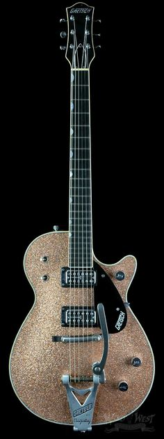 Gretsch G6128T Custom Shop '59 Duo Jet Distressed Champagne Sparkle Stern Master Built