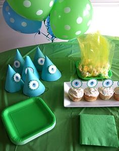 Alien-themed party. awesome!