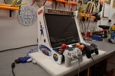 Arcade Machines For SALE - High Quality Mini Arcade Machines FOR SALE MAME JAMMA Hyperspin video games Mini Arcade Machine, Bartop Arcade, Retro Arcade, Geek Out, Arcade Games, Man Cave, Video Games, Home Appliances, Youth