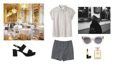 """""""Untitled #1862"""" by girlinlondon ❤ liked on Polyvore featuring MHL by Margaret Howell, CÉLINE, Care Label, Prada and Chanel"""
