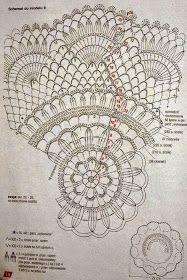 Napperons au crochet / many lovely thread patterns. well worth a visit! Filet Crochet, Mandala Au Crochet, Crochet Mat, Crochet Doily Diagram, Crochet Dollies, Crochet Circles, Crochet Doily Patterns, Crochet Books, Crochet Home