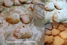 Λαδοκουραμπιέδες: η υγιεινή και light εκδοχή των κουραμπιέδων!   Η συνταγή είναι παραδοσιακή και παλιά. Όπως λοιπόν όλες οι παραδοσιακές συνταγές υπάρχει σε πολλές παραλλαγές , κάθε σπίτι κι από μία που λένε… Ειδικά στην περιοχή μουυπάρχει σε όλα τα παλιά τετράδια συνταγών, αφού όπως μου λένε ήταν το … Cookies, Desserts, Recipes, Food, Crack Crackers, Tailgate Desserts, Deserts, Biscuits, Essen