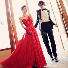 Spring Sweep Train Chiffon Natural Waist Sweetheart Hourglass Elegant & Luxurious Misses Evening Dress