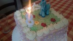 The Blue Horse - cake