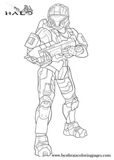 halo coloring pages Halo 3 coloring pages master chief coloring
