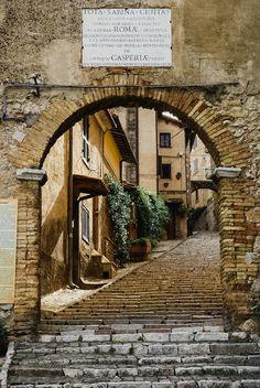 """mostlyitaly: """" Casperia (Tuscany, Italy) by Paul Crompton """""""
