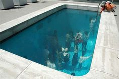 Underwater art installation