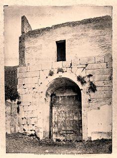 Porta Latina lato interno Anno: 1866 Old Photos, Latina, Rome, San Giovanni, Italy, Places, Artwork, Memories, Antigua