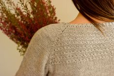 Heathered | by melissa schaschwary in quince and co. chickadee