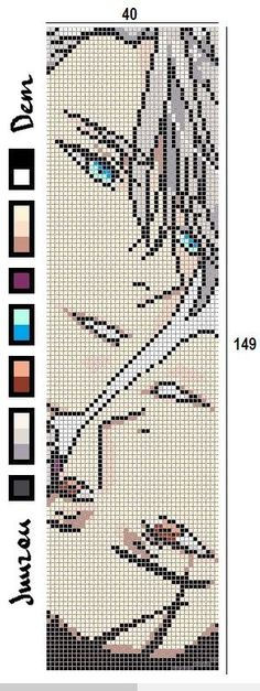 Anime x-stitch