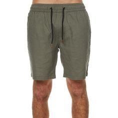 Barney Cools B Cools Ii Mens Linen Short Green ($70) ❤ liked on Polyvore featuring men's fashion, men's clothing, men's shorts, green, men, shorts, mens clothing, mens apparel and short mens clothing