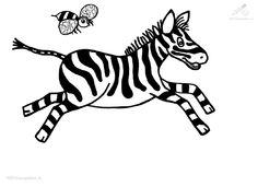 bij en zebra