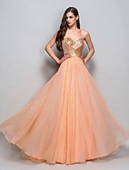 Formal Evening/Prom/Military Ball Dress A-line/... – USD $ 119.99