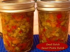 Sweet Pickle Relish - One Jar at a Time