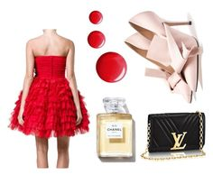 """RED"" by karma-lago-barrow on Polyvore featuring moda, Dolce&Gabbana e Topshop"