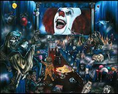 Bioscoop of Horror Art Print