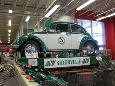 1960's Roughriders Bug - 2012 Canadian Tire, Prince Albert Sask