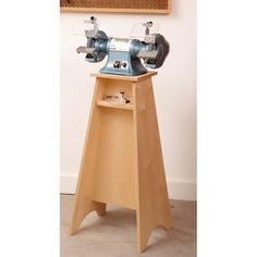 Grinder Tool Sharpening Stand Woodworking Plan, Shop Project Plan | WOOD Store