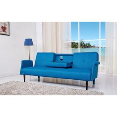 Cambridge Brown Convertible Sofa Bed | Overstock.com Shopping - The Best Deals on Sofas & Loveseats