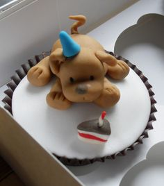 puppy cupcakes | Puppy dog cupcake | Flickr - Photo Sharing!