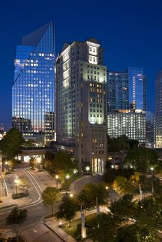Located in Buckhead, Grand Hyatt Atlanta is walking distance to the luxury shopping in Lenox Square.