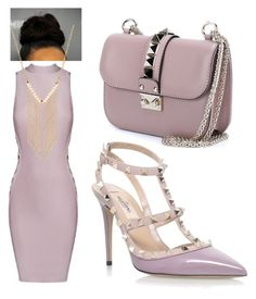 """Lavendar"" by jaiilene ❤ liked on Polyvore featuring Posh Girl, Valentino and Gemelli"