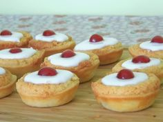 emily's recipes and reviews | uk food blog: mini cherry bakewells.