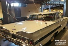 A 1960 Chevrolet Impala with symmetrical triple circle tail lights and bat wings. :) :) #chevrolet #impala #vintagestyle #vintagecar #vintagecollection #heritage #transport #museum #travel #tour #htm #photography #explore