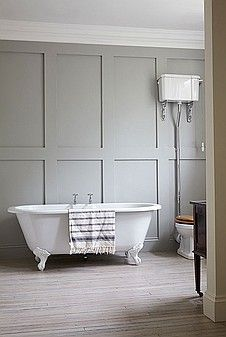 Stunning #rolltop bath for #inspirational #interiors