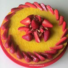 Torta di mandorle e limoni - amalfi coast cake