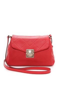 Marc by Marc Jacobs Circle in Square Scored Messenger Bag
